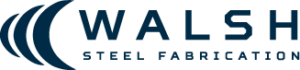 Walsh Steel Fabrication Logo Icon Navy Blue